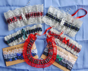 Wedding Horseshoes and Garters